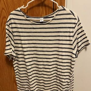 Old Navy front tie short sleeve top XL tall